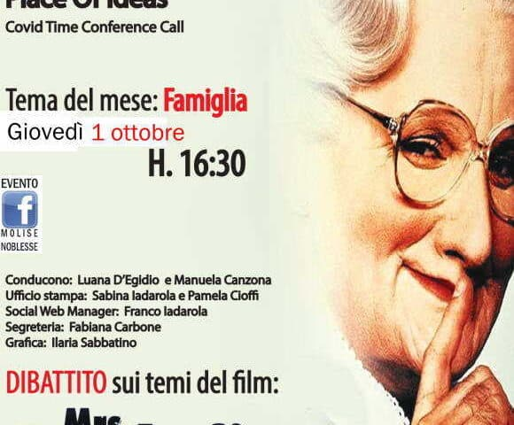 Mrs Doubtfire al Cineforum Umdi