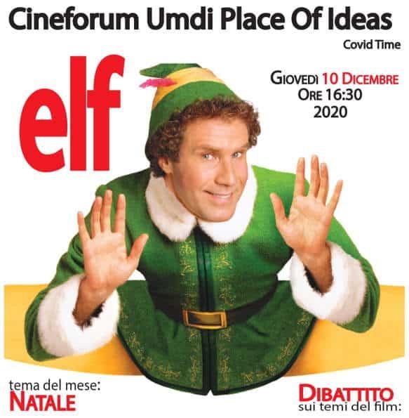 Elf a Bojano col Cineforum Umdi - Locandina