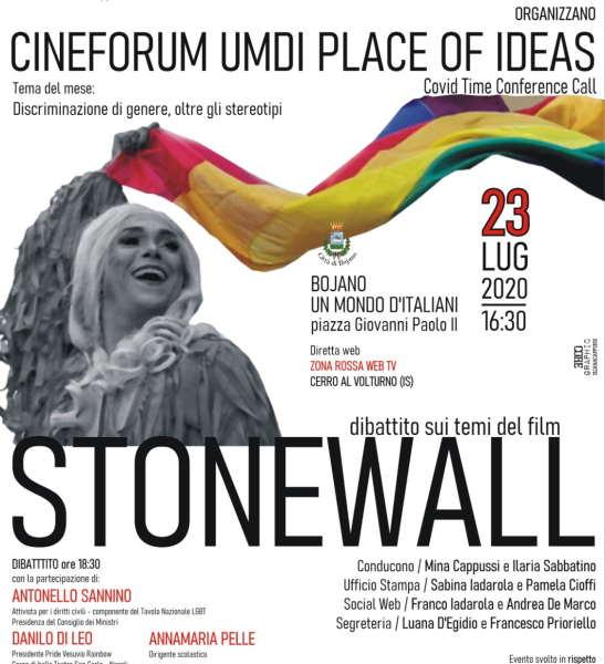 Stonewall con Antonello Sannino, Danilo Di Leo e Annamaria Pelle