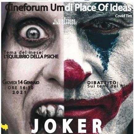 Joker al Cinefrorum Umdi